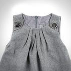 Фото: Платье с драпировкой на груди (артикул Z 50024-grey) - изображение 5