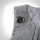 Фото: Платье с драпировкой на груди (артикул Z 50024-grey) - изображение 6