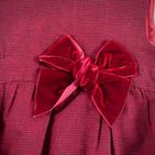Фото: Платье c бархатным бантом (артикул Z 50027-red) - изображение 5