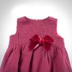 Фото: Платье c бархатным бантом (артикул Z 50027-red) - изображение 6