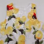 Фото: Детское платье с лимонами  (артикул O 50301-yellow) - изображение 5
