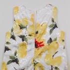Фото: Детское платье с лимонами  (артикул O 50301-yellow) - изображение 8