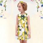 Фото: Детское платье с лимонами  (артикул O 50301-yellow) - изображение 9