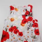 Фото: Платье с маками детское (артикул O 50301-red) - изображение 5