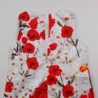 Фото: Платье с маками детское (артикул O 50301-red) - изображение 8