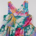 Фото: Цветное платье с бантом на спине (артикул O 50306-green) - изображение 5