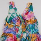 Фото: Цветное платье с бантом на спине (артикул O 50306-green) - изображение 6