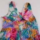 Фото: Цветное платье с бантом на спине (артикул O 50306-green) - изображение 7