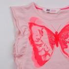 Фото: Майка с рюшами и бабочкой (артикул O 40131-peach) - изображение 6