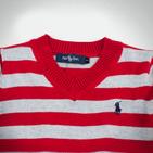 Фото: Свитер в полоску  (артикул RL 20022-red stripe) - изображение 5