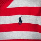 Фото: Свитер в полоску  (артикул RL 20022-red stripe) - изображение 6