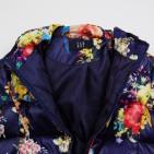 Фото: Тёплая куртка с ярким принтом (артикул Gp 10011-deep blue) - изображение 5