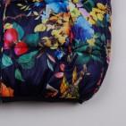 Фото: Тёплая куртка с ярким принтом (артикул Gp 10011-deep blue) - изображение 7