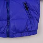 Фото: Пуховик голубого цвета (артикул O 10255-blue) - изображение 7
