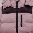 Фото: Зимняя куртка бежевого цвета (артикул O 10267-beige) - изображение 5