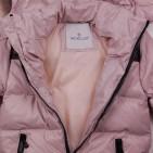 Фото: Зимняя куртка бежевого цвета (артикул O 10267-beige) - изображение 6