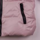 Фото: Зимняя куртка бежевого цвета (артикул O 10267-beige) - изображение 7