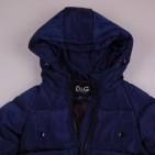 Фото: Зимнее стёганое  пальто  (артикул O 10266-deep blue) - изображение 5