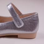 Фото: Туфли королевы Эльзы в серебристом цвете (артикул 1087-silver) - изображение 6
