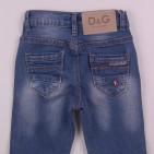 Фото: Детские джинсы D&G с потертостями (артикул O 60133-jeans) - изображение 6