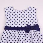Фото: Детское платье в горошек (артикул B 50104-spots) - изображение 5