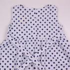 Фото: Детское платье в горошек (артикул B 50104-spots) - изображение 6