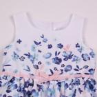 Фото: Платье для девочки с цветочным принтом Marc Jacobs (артикул O 50325-flowers) - изображение 5