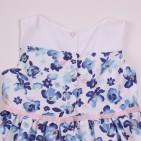 Фото: Платье для девочки с цветочным принтом Marc Jacobs (артикул O 50325-flowers) - изображение 6