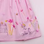 Фото: Розовое платье для девочки на лето (артикул O 50319-light pink) - изображение 7