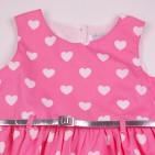 Фото: Яркое платье для девочки Marc Jacobs (артикул O 50320-pink) - изображение 5
