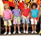 Фото: Детская футболка поло красного цвета (артикул RL 40001-red) - изображение 6