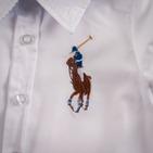 Фото: Рубашка Big Poni. Лимитированая коллекция  (артикул RL 30013-white) - изображение 6