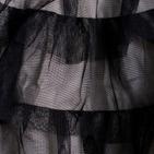 Фото: Платье с многослойной юбкой (артикул O 50023-white-black) - изображение 5