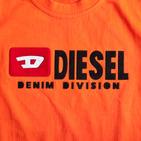 Фото: Diesel*. Футболка с принтом бренда  (артикул O 40010-orange) - изображение 5