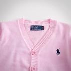 Фото: Светло-розовая кофта для маленькой девочки (артикул RL 20001-light pink) - изображение 5