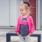 Фото: Светло-розовая кофта для маленькой девочки (артикул RL 20001-light pink) - изображение 6