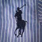 Фото: Рубашка в крупную полоску  (артикул RL 30009-blue) - изображение 6