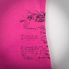 Фото: Футболка со строчкой на воротничке  (артикул RL 40020-pink) - изображение 5