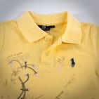 Фото: Футболка с принтом и вышивкой (артикул RL 40021-yellow) - изображение 6