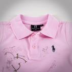 Фото: Футболка с принтом и вышивкой (артикул RL 40021-light pink) - изображение 6