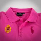 Фото: Футболка с гербом (артикул RL 40022-pink) - изображение 5