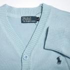 Фото: Детская кофточка светло-голубого цвета (артикул RL 20001-light blue) - изображение 5