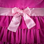 Фото: Платье бархатное  (артикул RL 50008-pink) - изображение 5
