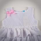 Фото: Платье с розовым бантом (артикул Gs 50007-white) - изображение 6