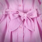 Фото: Платье с пуговицами на воротнике (артикул Z 50037-light pink) - изображение 5