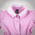 Фото: Платье с пуговицами на воротнике (артикул Z 50037-light pink) - изображение 6
