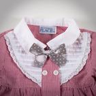 Фото: Place. Рубашка с бантом (артикул O 30011-red stripes) - изображение 5
