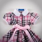 Фото: Платье в классическую клетку  (артикул B 50004-pink) - изображение 5