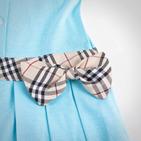 Фото: Платье с классическим кантом и бантом (артикул B 50007-light blue) - изображение 5