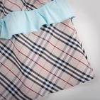 Фото: Платье с рюшами на юбке (артикул B 50041-azure) - изображение 5
